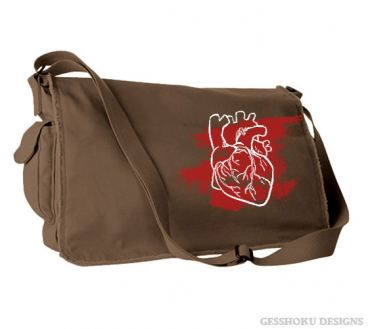 Laid My Heart Bare Messenger Bag