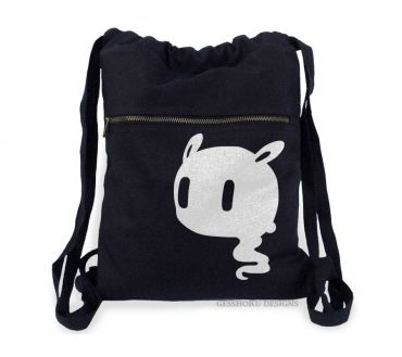 Kawaii Ghost Cinch Backpack