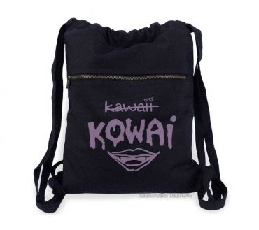 KOWAI Not Kawaii Cinch Backpack