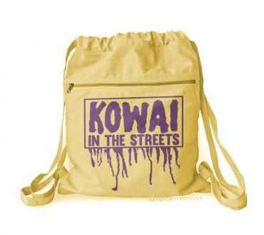 Kowai in the Streets Cinch Backpack