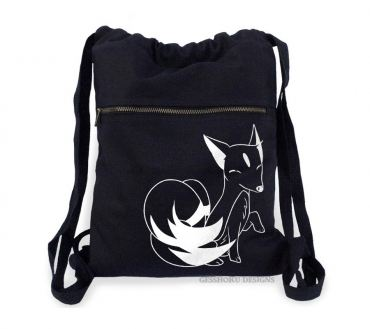 Majestic Kitsune Cinch Backpack