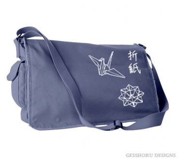 Origami Messenger Bag
