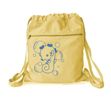 Kawaii Seahorse Cinch Backpack