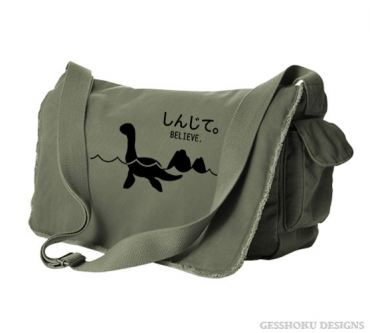 Believe - Monsters in the Water Messenger Bag