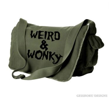 Weird & Wonky Messenger Bag