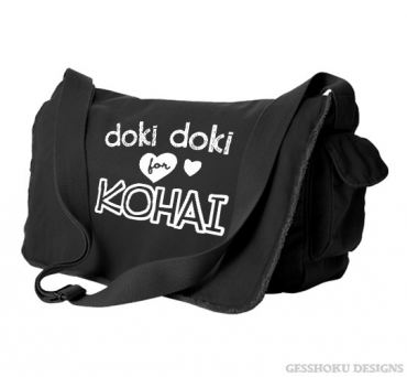 Doki Doki for Kohai Messenger Bag