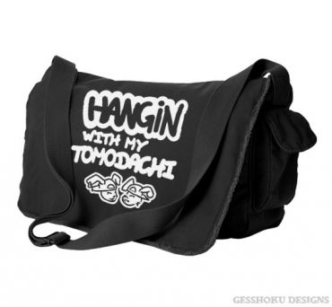 Hangin with my Tomodachi Messenger Bag