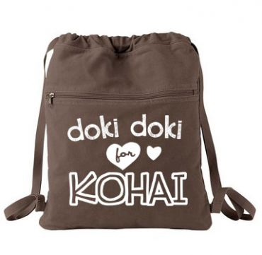 Doki Doki for Kohai Cinch Backpack