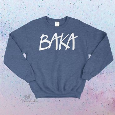 BAKA (text) Crewneck Sweatshirt