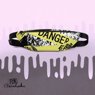 Caution Tape Aesthetic Fanny Pack
