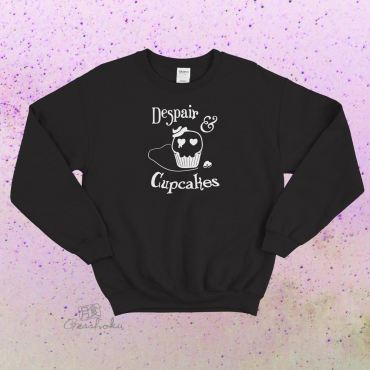 Despair and Cupcakes Crewneck Sweatshirt