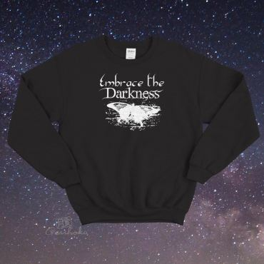 Embrace the Darkness Crewneck Sweatshirt