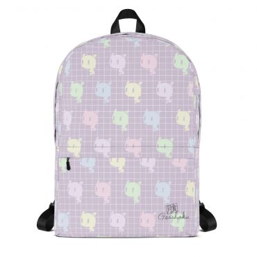 Kawaii Ghost Pastel Rainbow Classic Backpack
