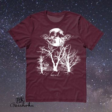 Howl: Eyes of the Night Forest T-shirt