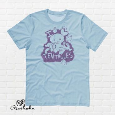 I Love Tentacles T-shirt