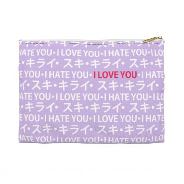 Love Hate Relationship Pencil Pouch