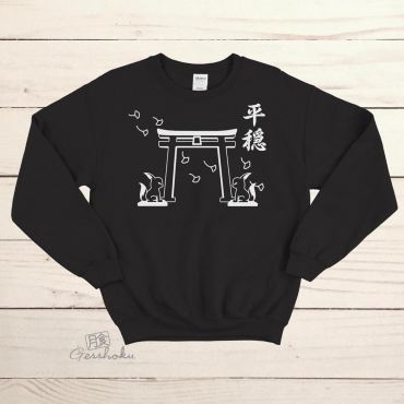 Tranquility Shrine Gate Crewneck Sweatshirt