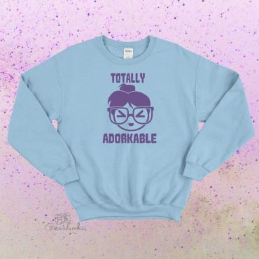 Totally Adorkable Crewneck Sweatshirt