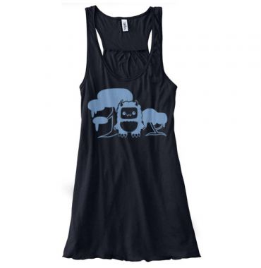 Tricky Yeti's Magical Forest Flowy Tank Top