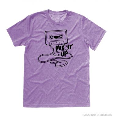 Mix It Up Retro Cassette Tape T-shirt