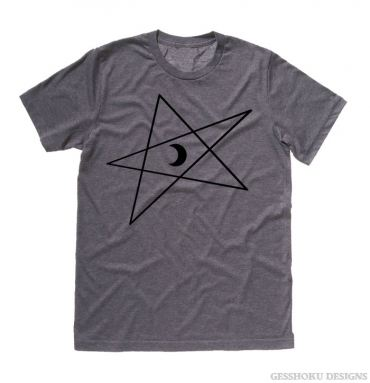 5-Pointed Moon Star T-shirt