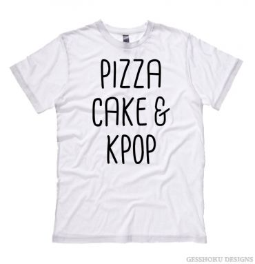 Pizza Cake & KPOP T-shirt