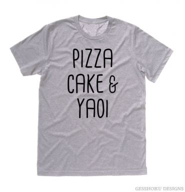 Pizza Cake & YAOI T-shirt