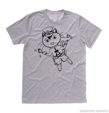 Tea Party Neko T-shirt