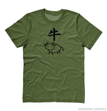 Year of the Ox Chinese Zodiac T-shirt