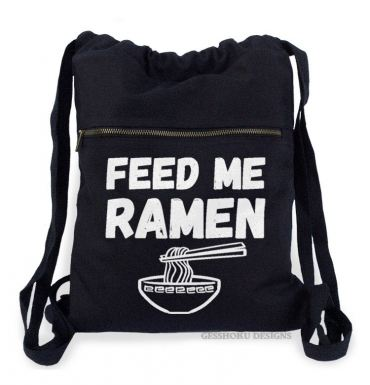 Feed Me Ramen Cinch Backpack