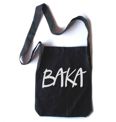 Baka (text) Crossbody Tote Bag