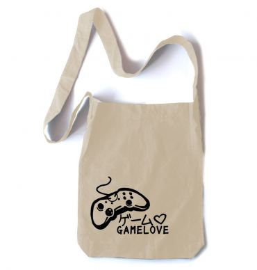 Game Love Crossbody Tote Bag