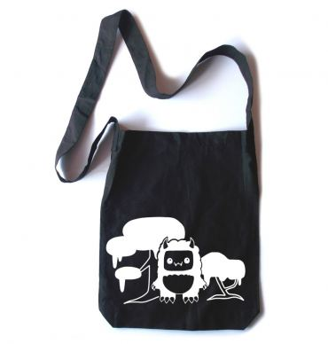 Tricky Yeti's Magical Forest Crossbody Tote Bag