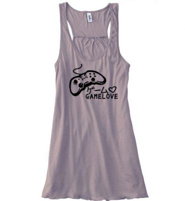 Game Love Flowy Tank Top
