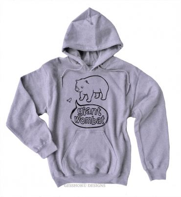 Giant Wombat Pullover Hoodie
