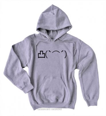 Angry Middle Finger Emoji Pullover Hoodie