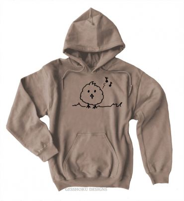 Musical Bird Pullover Hoodie