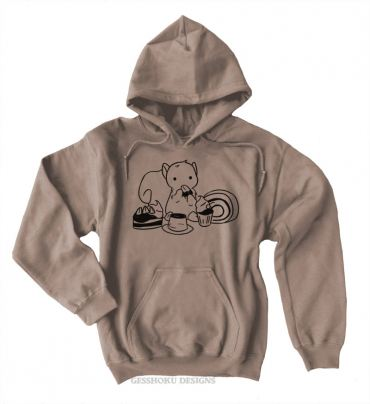Squirrels and Sweets Pullover Hoodie
