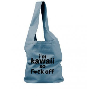 I'm Kawaii So Fuck Off Sling Bag