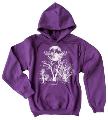 Howl: Eyes of the Night Forest Pullover Hoodie