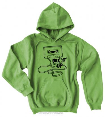 Mix It Up Cassette Tape Pullover Hoodie