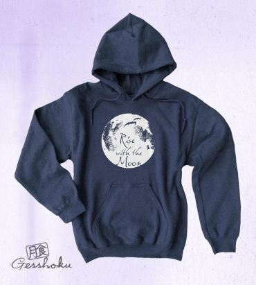 Rise with the Moon Pullover Hoodie