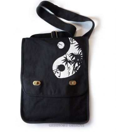 Asian Pattern Yin Yang Field Bag