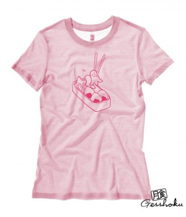 Bento Box Kawaii Ladies T-shirt