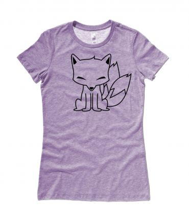 Chibi Kitsune Ladies T-shirt