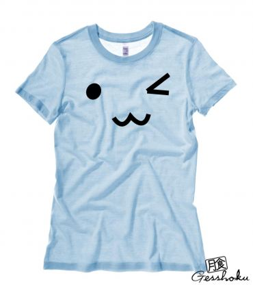 Kawaii Face Ladies T-shirt