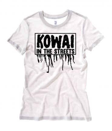 Kowai in the Streets Ladies T-shirt
