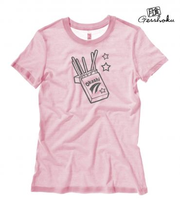 Okashi Kawaii Candy Ladies T-shirt