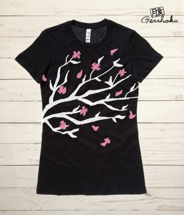 Sakura Blossoms Ladies T-shirt