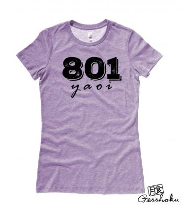 801 YAOI Ladies T-shirt